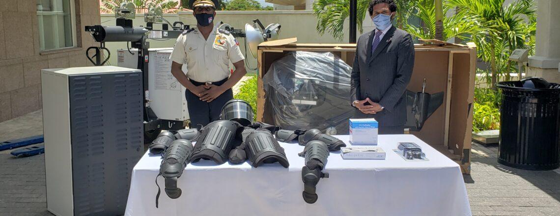 Support des Etats Unis aux Priorités Stratégiques de la Police Nationale d'Haïti