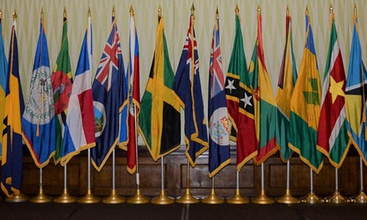 Display of flags