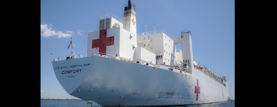 United States Navy Hospital Ship USNS COMFORT To Haiti, November 4 – 13, 2019