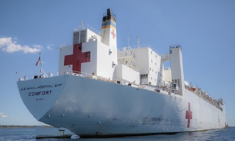 US Naval Hospital Ship Comfort