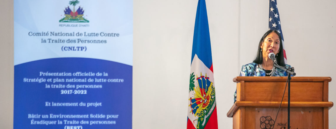 Remarks by Ambassador Sison at the Launch of the Haitian Government's National Action Plan