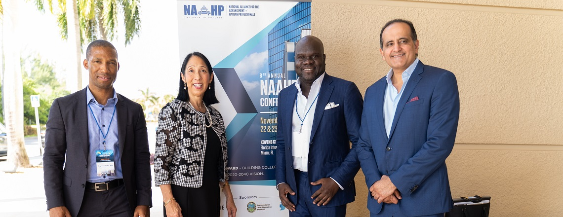 Ambassador Sison at the 8th Annual NAAHP Conference, Nov. 22, 2019