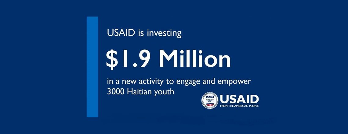 USAID to help 3,000 at-risk Haitian Youth