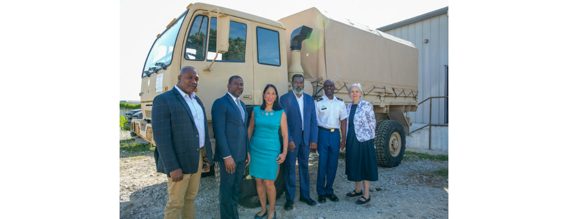 U.S. Government Donates Humanitarian Assistance Equipment