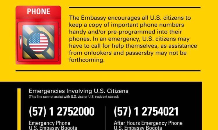 Mensaje para ciudadanos americanos.