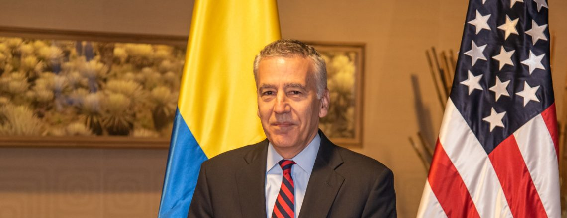 Embajador de EE.UU. Philip S. Goldberg llegó a Colombia