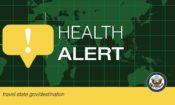 Health Alert banner
