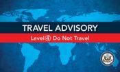 Travel Advisory Level 4 banner