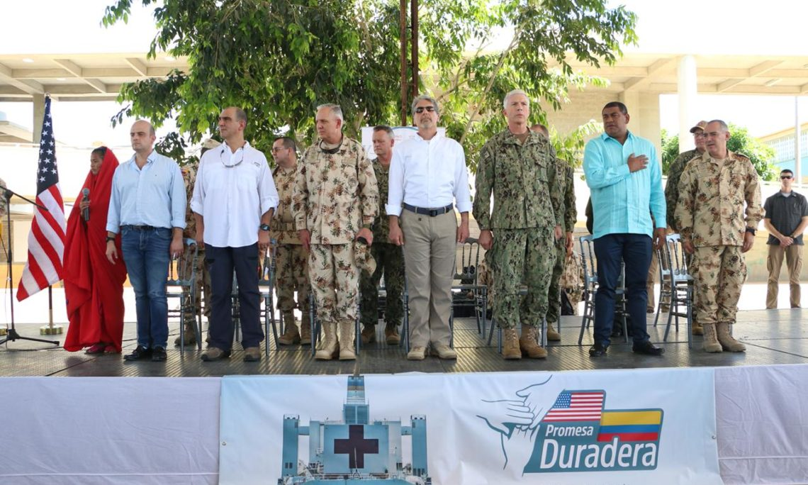Successful completion of the Comfort mission in Colombia | U S