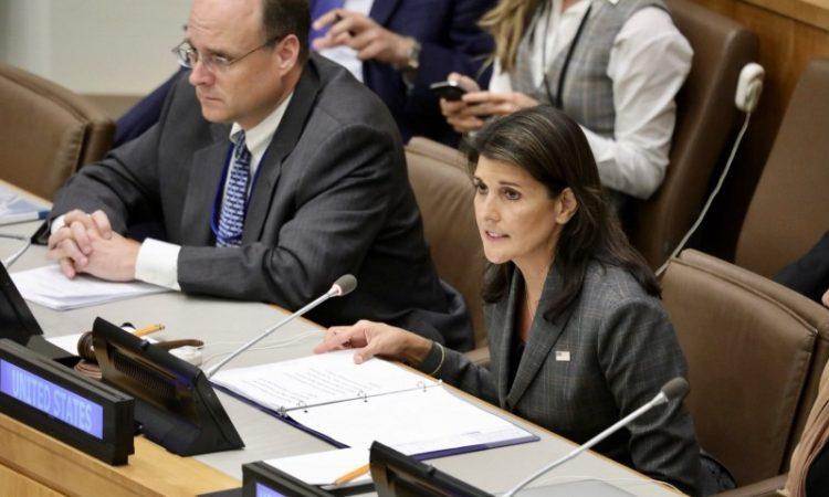 Embajadora Haley preside reunión sobre corrupción en Venezuela