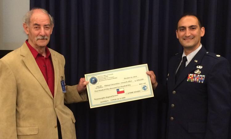 AFOSR entrega apoyo financiero a universidades chilenas