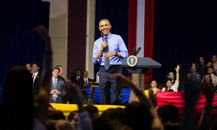 Remarks by President Obama at YLAI Town Hall