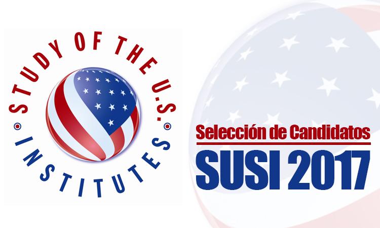 Candidatos Seleccionados para Programa SUSI 2017