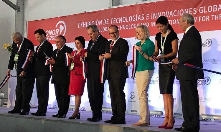 Embajadora Perez participa en Exponor 2017