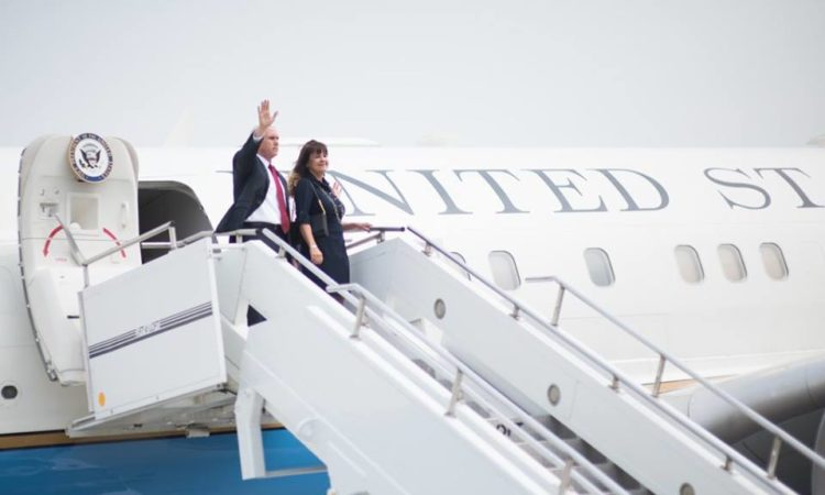 Second Lady Karen Pence in Central and South America