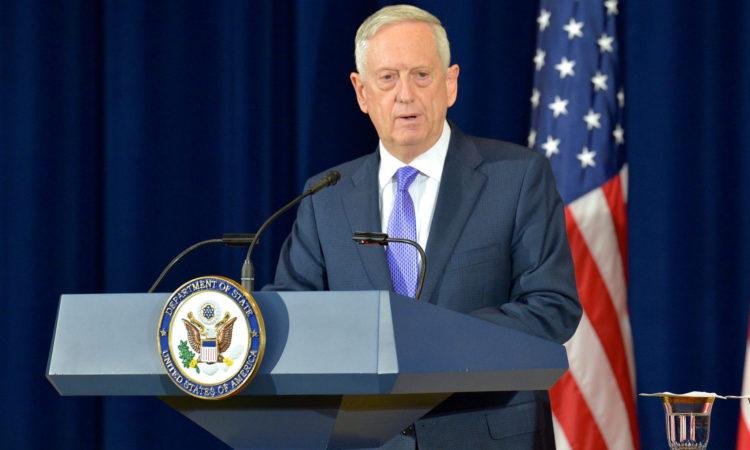 Secretario de Defensa de EE.UU., James Mattis, visitará Chile durante gira regional