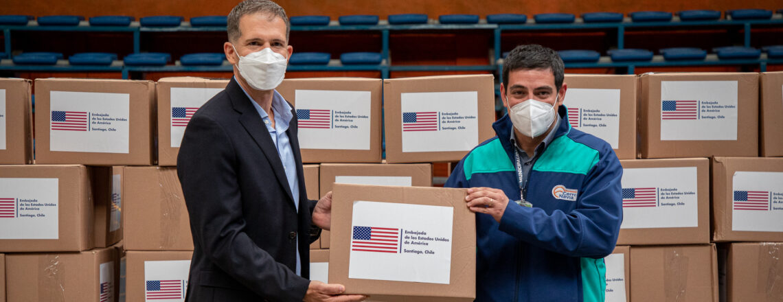 """The United States' """"All-of-America"""" Effort to Support Chile's Response to Coronavirus"""