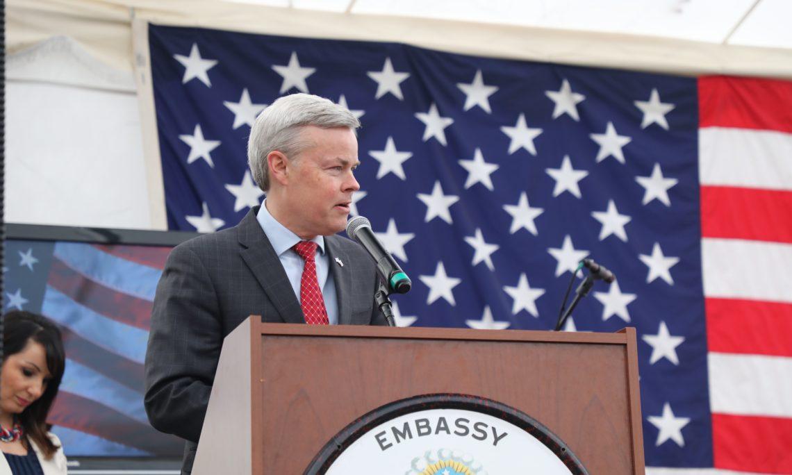 Baxter Hunt, ministro consejero y encargado de negocios de la Embajada de EEUU en Chile. Créditos: US Embassy in Chile