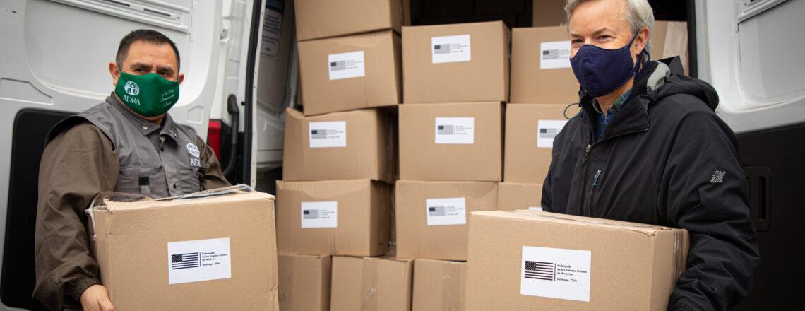 Gobierno de EE.UU. entrega a Chile más de 750 mil dólares en donaciones