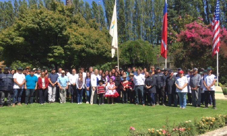 Embajadora Carol Perez visita Valle de Colchagua