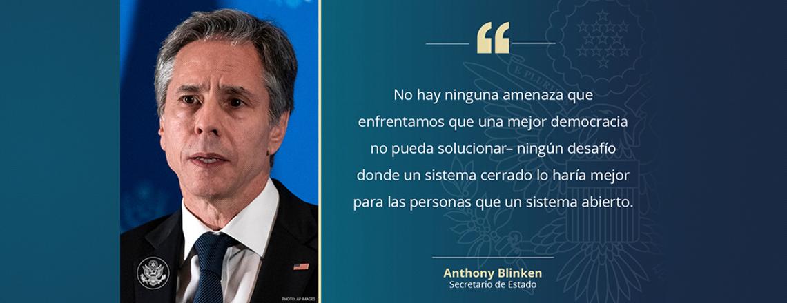 Secretario Blinken en su gira a Sudamérica