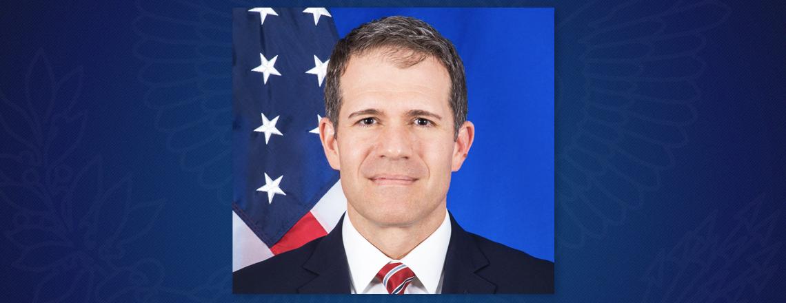 Richard Glenn asume como Chargé d´Affaires de la Embajada de EE.UU.