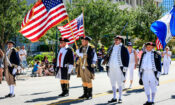 Memorial Day Parade in downtown Sarasota Florida