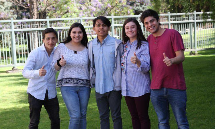 Cinco estudiantes universitarios chilenos obtuvieron disputada beca para programa académico en EE.UU.