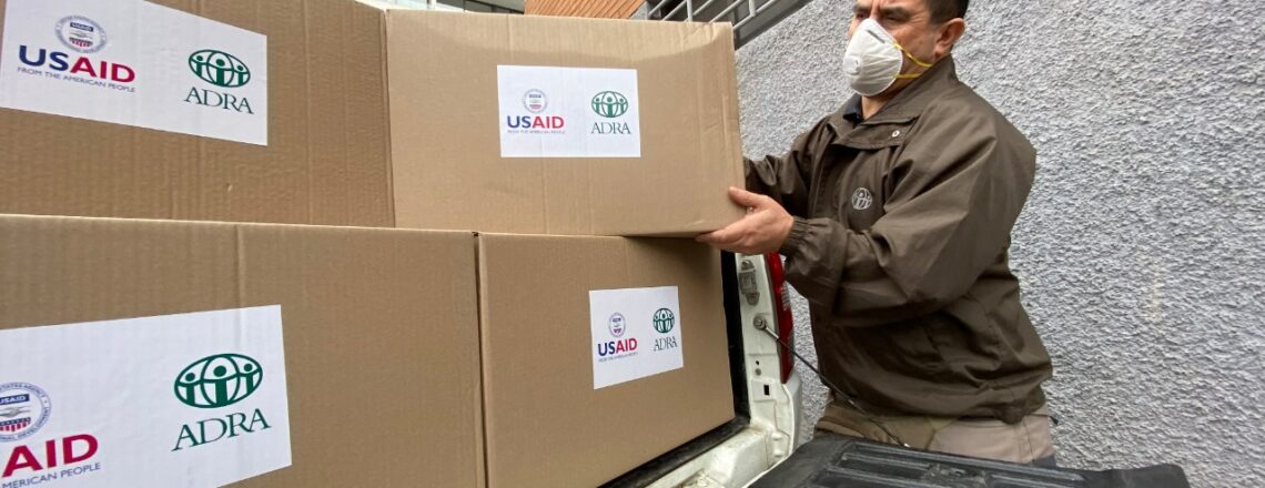 Todo Estados Unidos ayuda a Chile a enfrentar el coronavirus