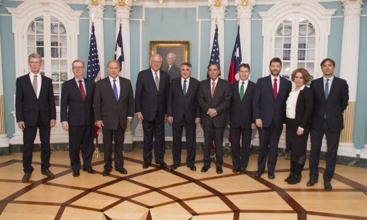 Subsecretario de los EE.UU. Shannon y Subsecretario de RR.EE. de Chile Riveros encabezan reunión bilateral de alto nivel