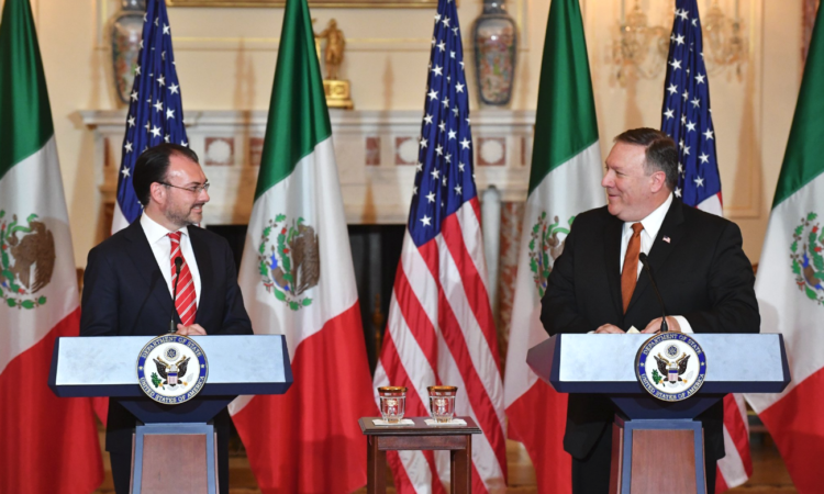 Joint Statements to the Press With Mexican Foreign Secretary Luis Videgaray