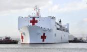 Personal médico de Chile apoya misión de asistencia médica del buque hospital USNS Comfort
