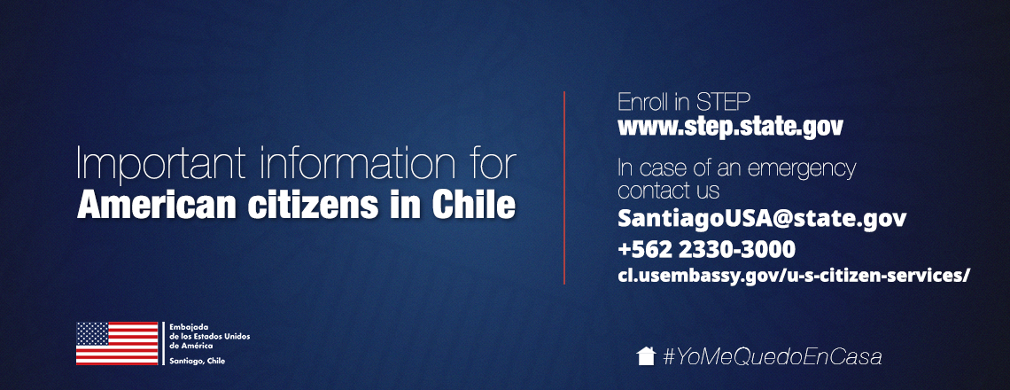 Emergency contact information for U.S. citizens