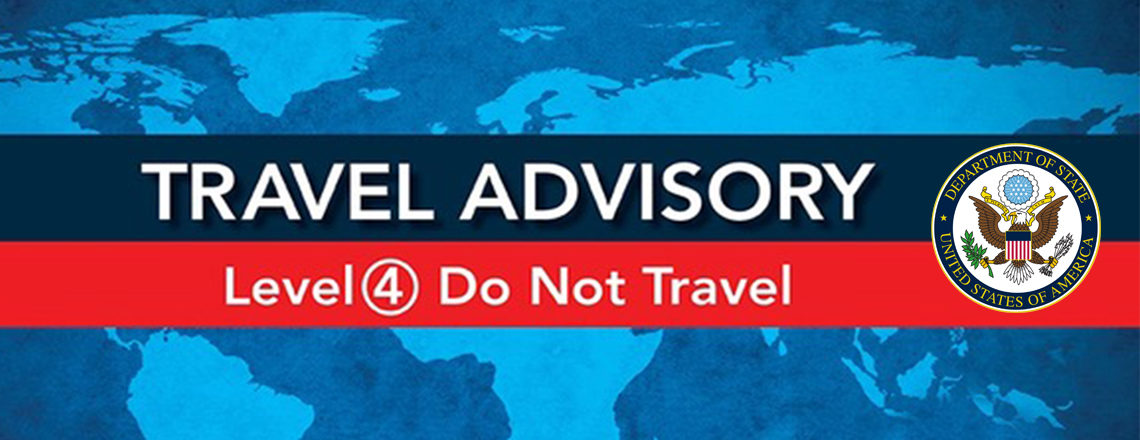 U.S. State Department advises U.S. citizens to avoid international travel due to COVID-19