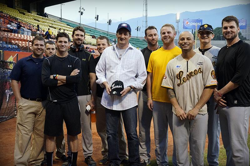 group of baseball players