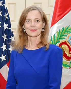 Photo of Ambassador of the United States of America to Peru Lisa Kenna