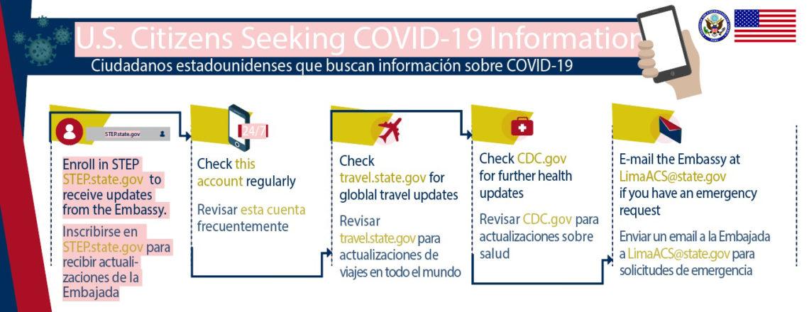 COVID-19 Information for U.S. Citizens in Peru
