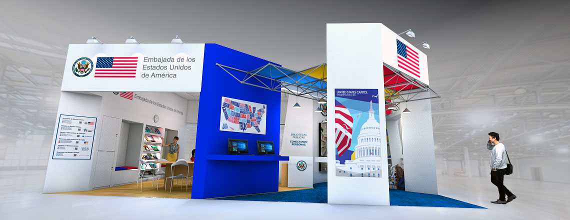 La Embajada de Estados Unidos regresa a la Feria Internacional del Libro de Lima
