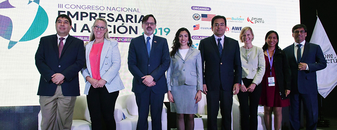 More than 100 women entrepreneurs of Peru trained with U.S. support