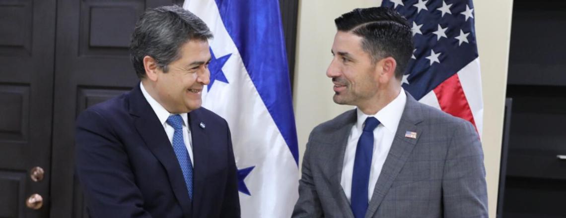 RESUMEN DE VIAJE: Secretario Interino Wolf visita Honduras para finalizar acuerdos claves