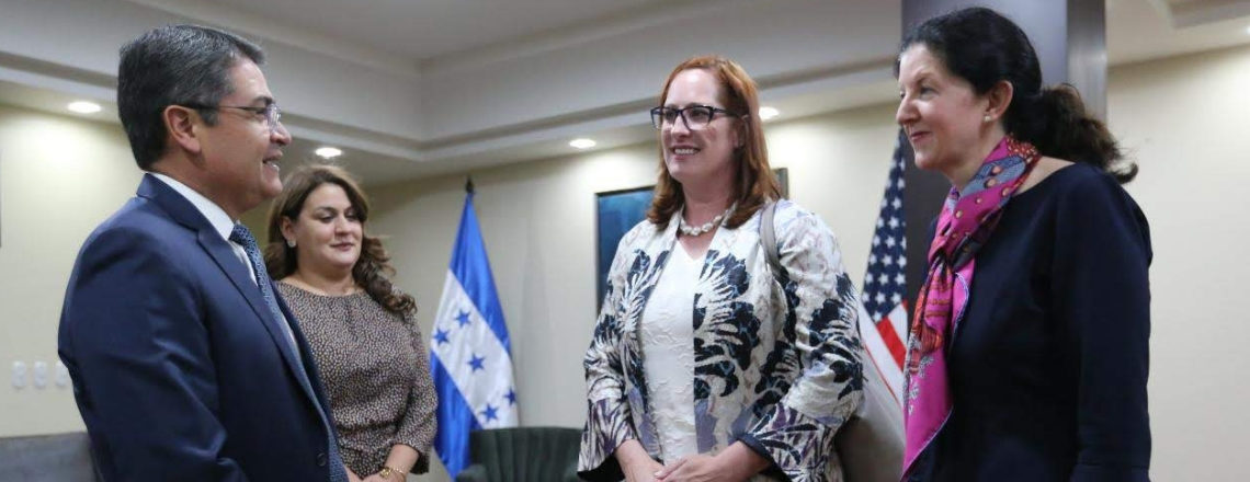 Assistant Secretary for Western Hemisphere Affairs Kimberly Breier Travels to Honduras