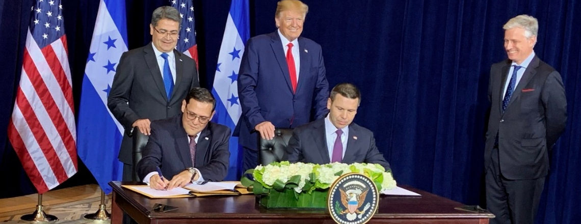 Joint Statement Between the U.S. Government and the Government of Honduras