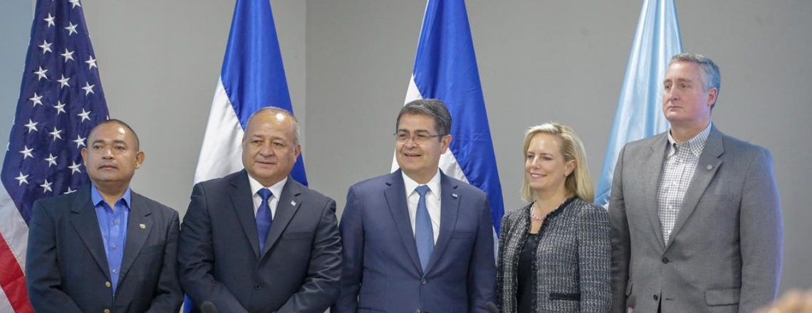 DHS Secretary Nielsen Travels to Honduras to Meet with Northern Triangle Governments