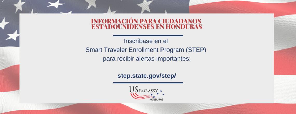 Inscríbase en STEP para Recibir Alertas Importantes