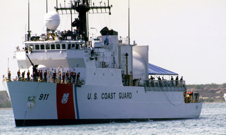 USCGC Forward at sea