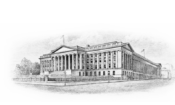 Treasury Department Logo
