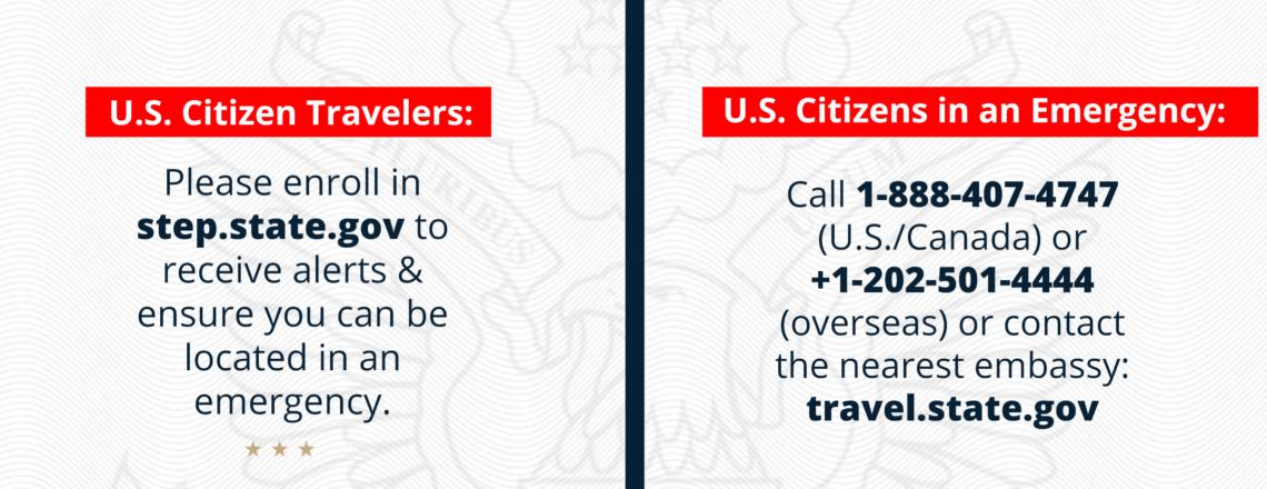 Información sobre COVID-19 para ciudadanos estadounidenses