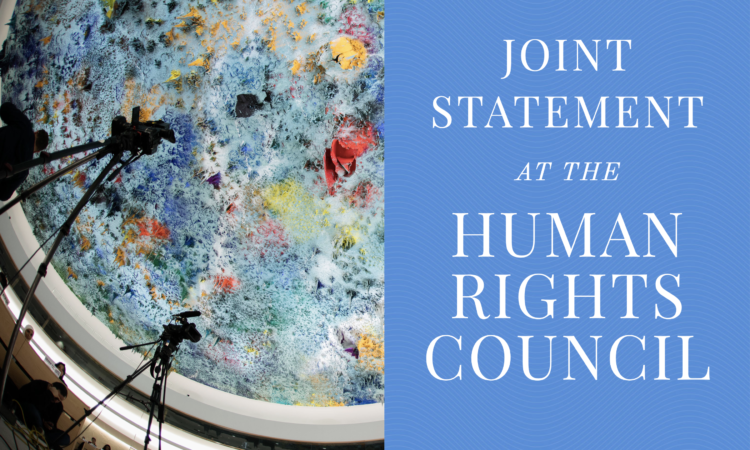 Human Rights Council Statement logo