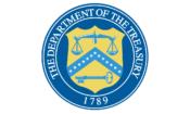US Dept of the Treasury Logo