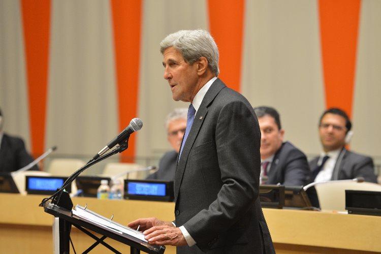 John Kerry en Plenario de la ONU